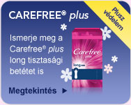 ÚJ Carefree® plus Long