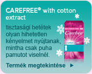 CareeFree® With Cotton Extract
