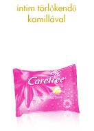 Kamillás intim törlőkendő a CAREFREE®-től